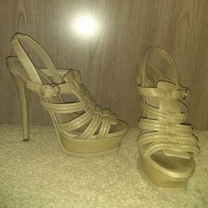 Authentic ysl platform shoes